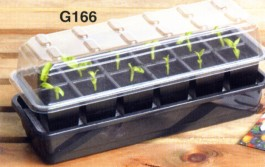 Garland selbstbewässerndes Anzuchtkit - 12 Zellen G166