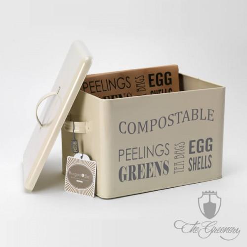 Burgon & Ball Küchen Kompostbox - Jersey Cream - GYO/COMPBINCREAM ...