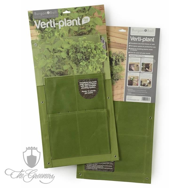Burgon & Ball Verti Plant Grün - 2er Pack