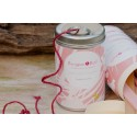 Burgon & Ball Dose Gartenschnur pink