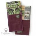 Burgon & Ball Verti Plant Aubergine - 2er Pack
