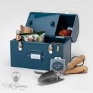 Burgon & Ball Werzkeug und Brotzeit Box Blau - GYO/TUCKTINBLUE