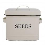 Saatgutbehälter - Weiß