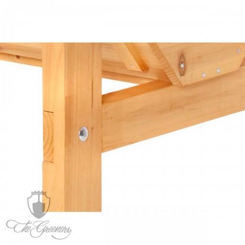 Vegtrug Holz Hochbeet Medium 100cm By Thegreenery De